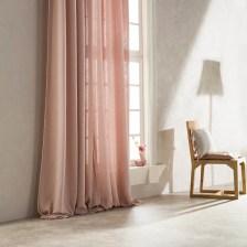 Κουρτίνα (140x280) Με Θηλιές Gofis Home Punto Pink 436/17