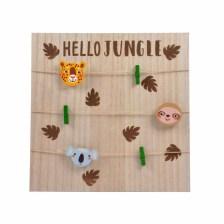 Κάδρο/Κορνίζα L-C Hello Jungle 6CAD088