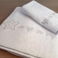 Βρεφικές Πετσέτες (Σετ 2τμχ) Baby Oliver Star Light Star Bright 146