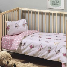 Παπλωματοθήκη Κούνιας (Σετ) Kentia Baby Pet