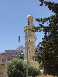 Sidna Umar Mosque minaret