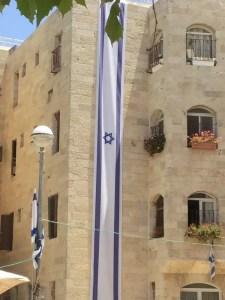 Building next to main square in Jewish Quarter