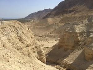 Qumran landscape