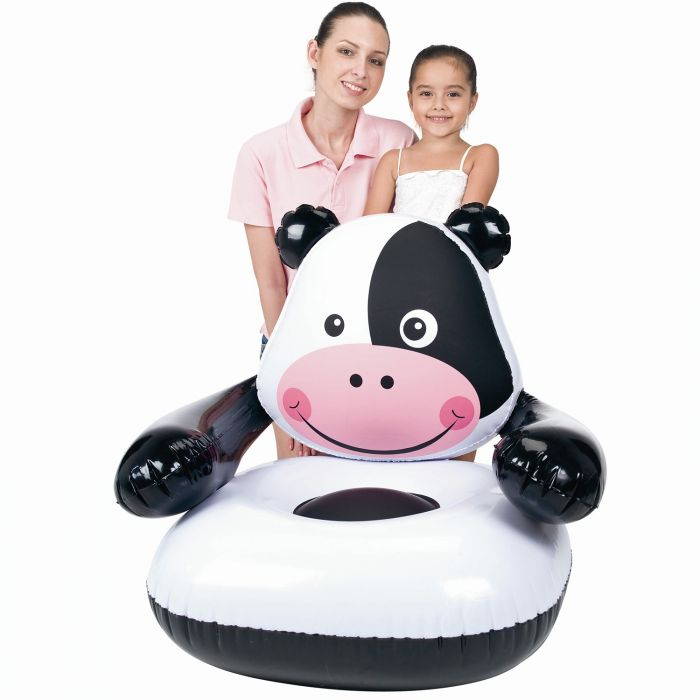 intex air chair revolving other name moo-cow inflatable - toys