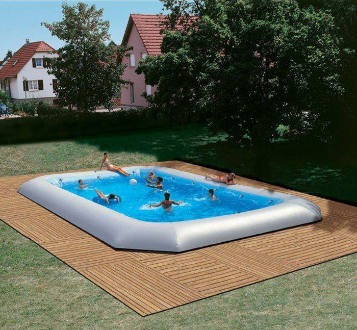 Zodiac Hippo Original Rectangular Pool 1655m x 825m