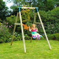 Bush Baby Wooden Garden Swing Set - Swings
