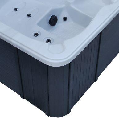 Canadian Spa Quebec Plug  Play Hot Tub  Garden Hot Tubs