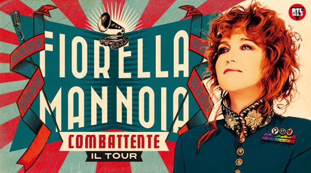 Fiorella Mannoia, una combattente in tour!