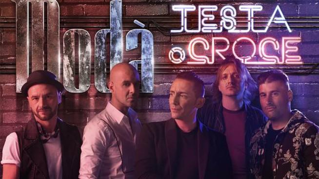 """Modà: Ripartiamo da """"testa o croce"""", il nostro nuovo album"""