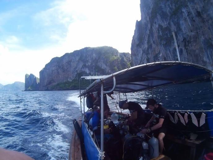 Phi Phi Islands divers paradise