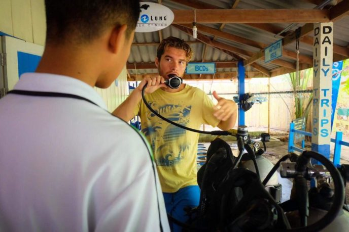 very professional and helpful staff at Adang Sea Divers