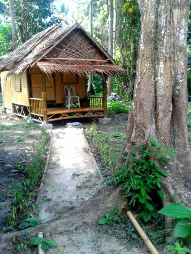 Mijn kleine hutje bij Koh Mook Garden Beach Resort