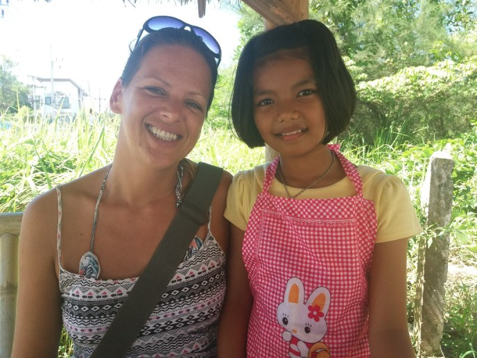 Thais meisje Pipa