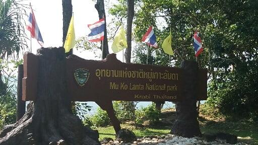 National Park op Koh Lanta Eiland