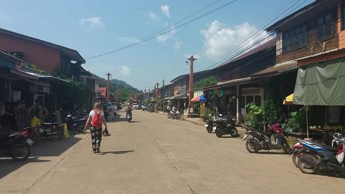 Koh Lanta oude stad gedeelte