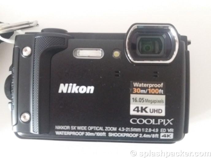 Nikon Coolpix W300, travel & dive camera for splashpacking