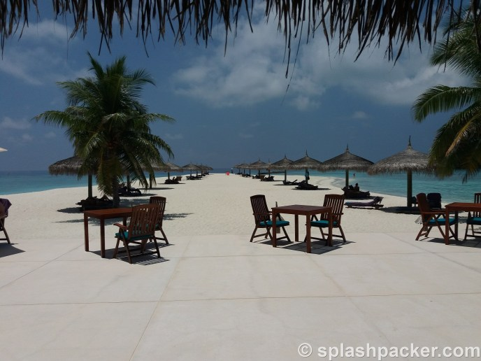 Veligandu Island Resort for a diving holiday in the Maldives