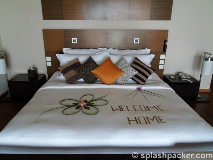 Room at Veligandu Island Resort in the Maldives