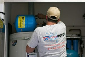 splash plumbing water heater repair in Orange County