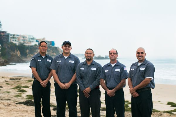 Technicians awaiting Capistrano Beach Plumbing repair