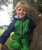 Dinosaur Splashsuit   Kids Splash Suit   Rain Suit