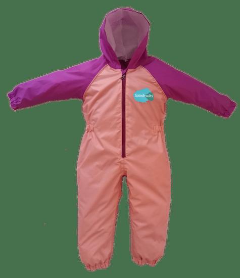 Front - Fairy Splashsuit | Kids Splash Suit | Kids Rain Suit