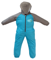 Front - Shark Splashsuit | Kids Splash Suit | Rain Suit
