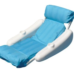 Swimming Pool Floating Chairs Comfy Deck Swimline Sunsoft Sunchaser And Lounges