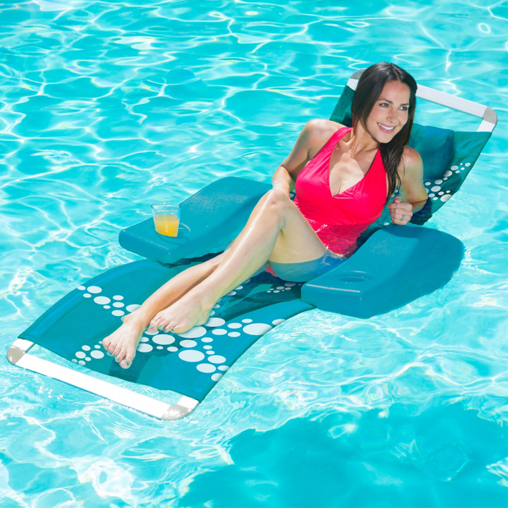 Poolmaster Caribbean Floating Lounge  Floating Chairs