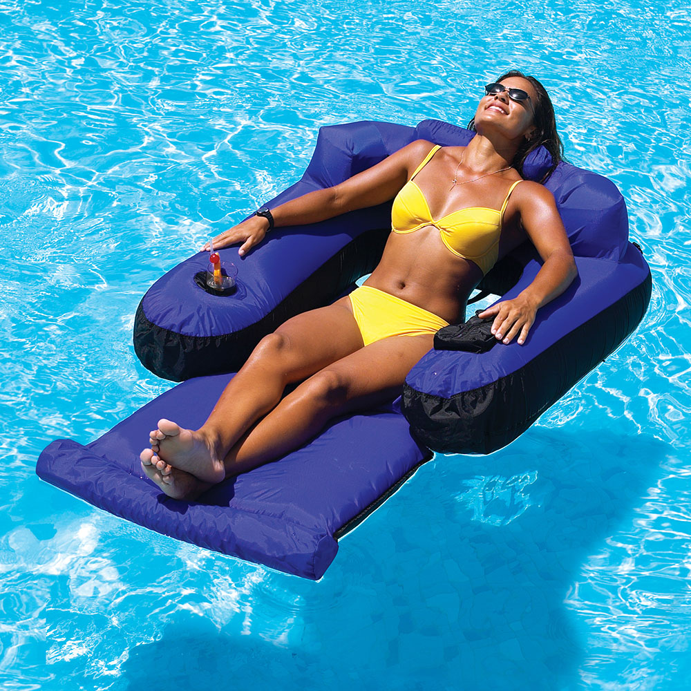 floating chair for lake shower chairs and benches swimline ultimate lounger pool floats splash