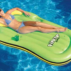 Floating Pool Chairs With Cup Holders Revolving Chair Online Flipkart Swimline Flip Flop Lounge Inflatable Lounges And Novelty