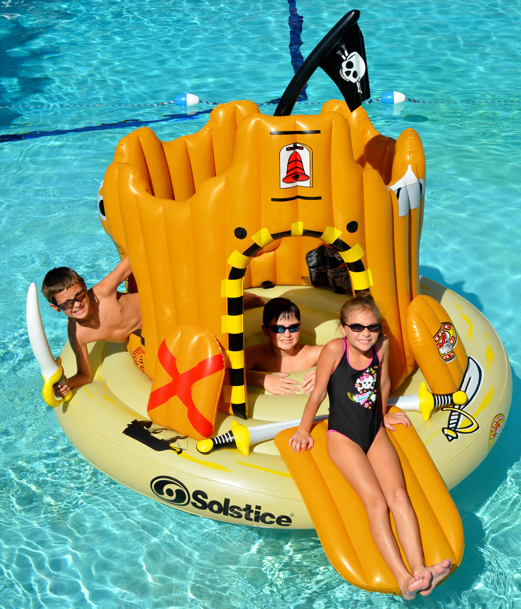 Pirates Island Pool Float Year Of Clean Water