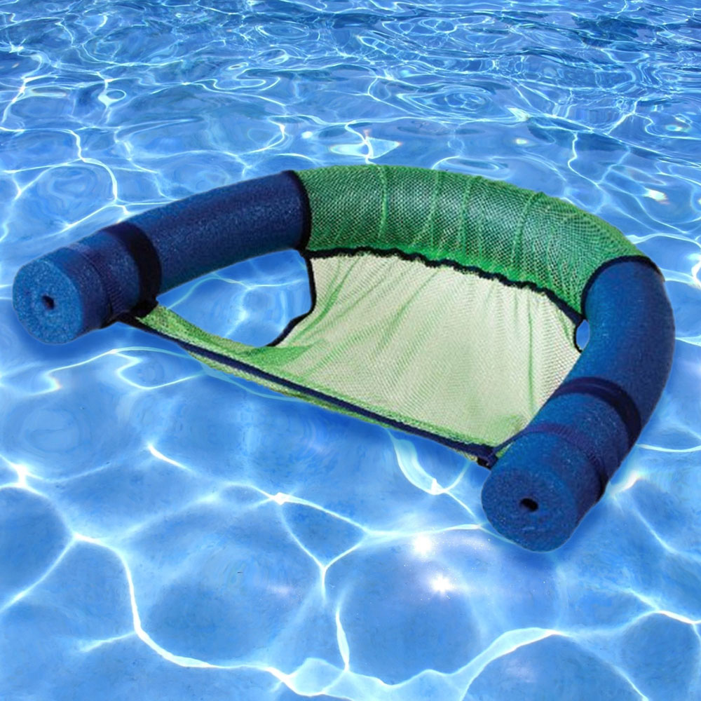 chair pool floats gas fire pit tables and chairs sets uk robelle noodle sling green splash