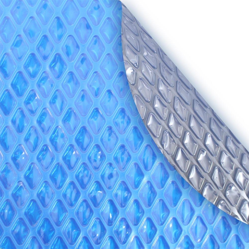Robelle 24 Round 8 Mil Blue Space Age Solar Blanket Pool Solar Blankets Splash Super Center