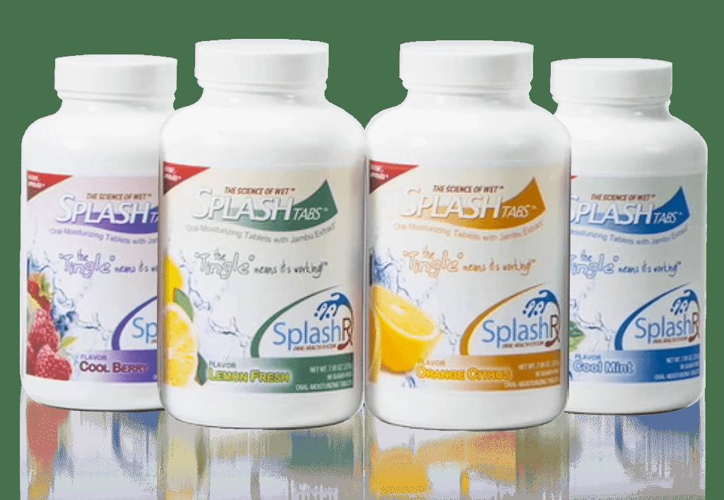 splashtabs 4 bottles