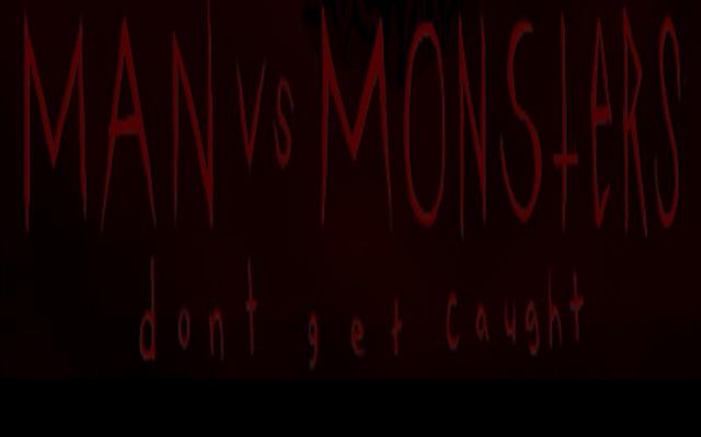 Man VS Monsters Cover