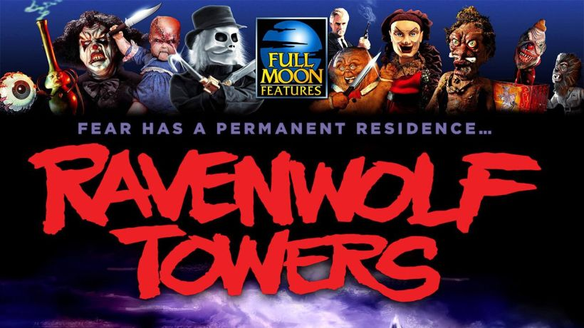 Ravenwolf Towers Poster