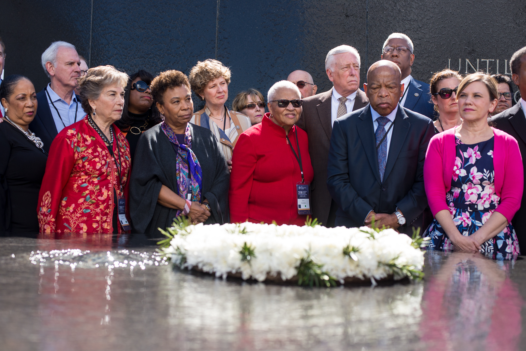 Congressional Civil Rights Leaders Gather At Civil Rights
