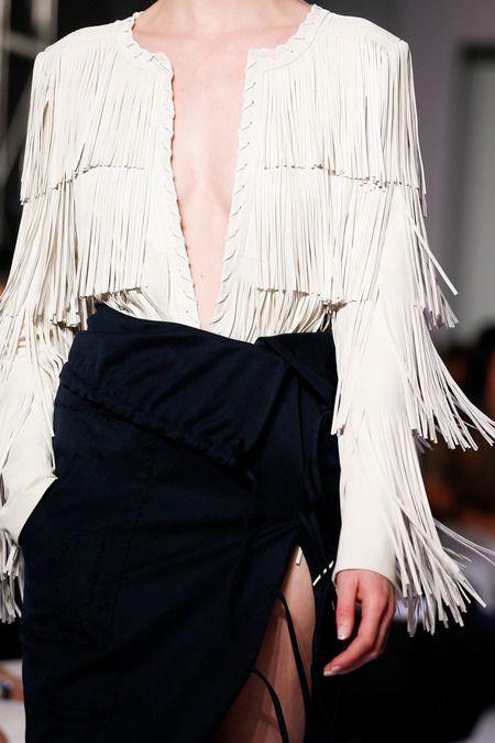 Fringe and tassels new trend