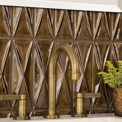 Hammered Copper Backsplash Kitchen Maple Shaker Cabinets Decorating With Warm Metallics - Copper, Bronze & Gold