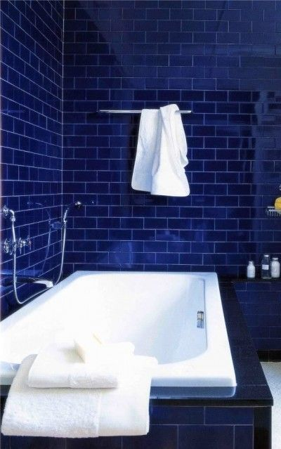 Gray and blue are a combination that has gained increasing traction in recent years. Cobalt Blue