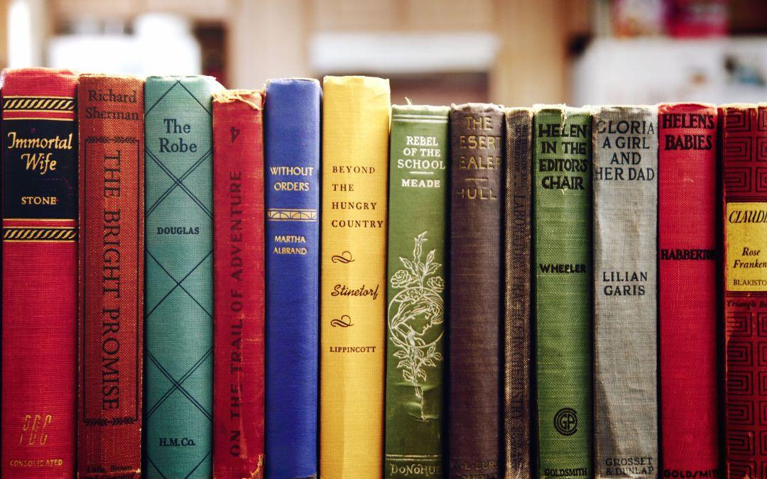 Joie 9 – Books!