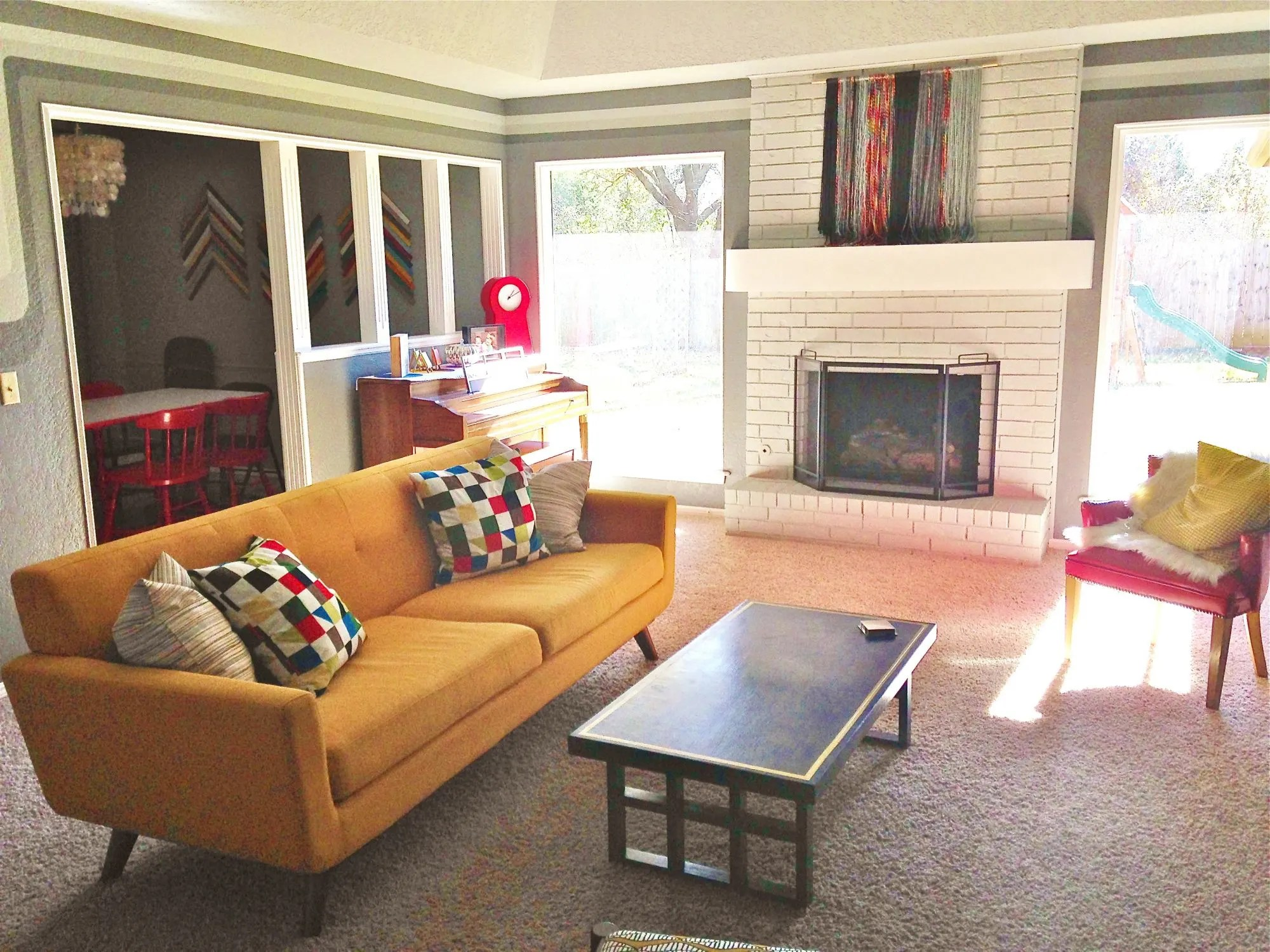 Living Room Makeover From Traditional to Modern  Splendry