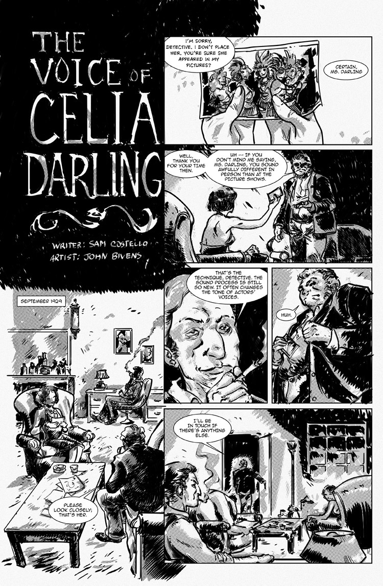 The Voice of Celia Darling