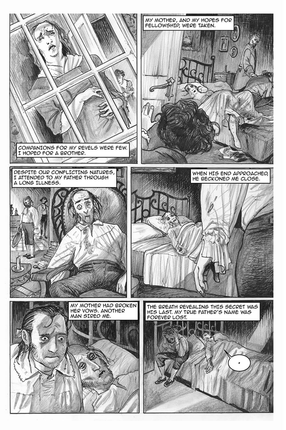 Doux Didou, page 3, by Sam Costello and David Hitchcock