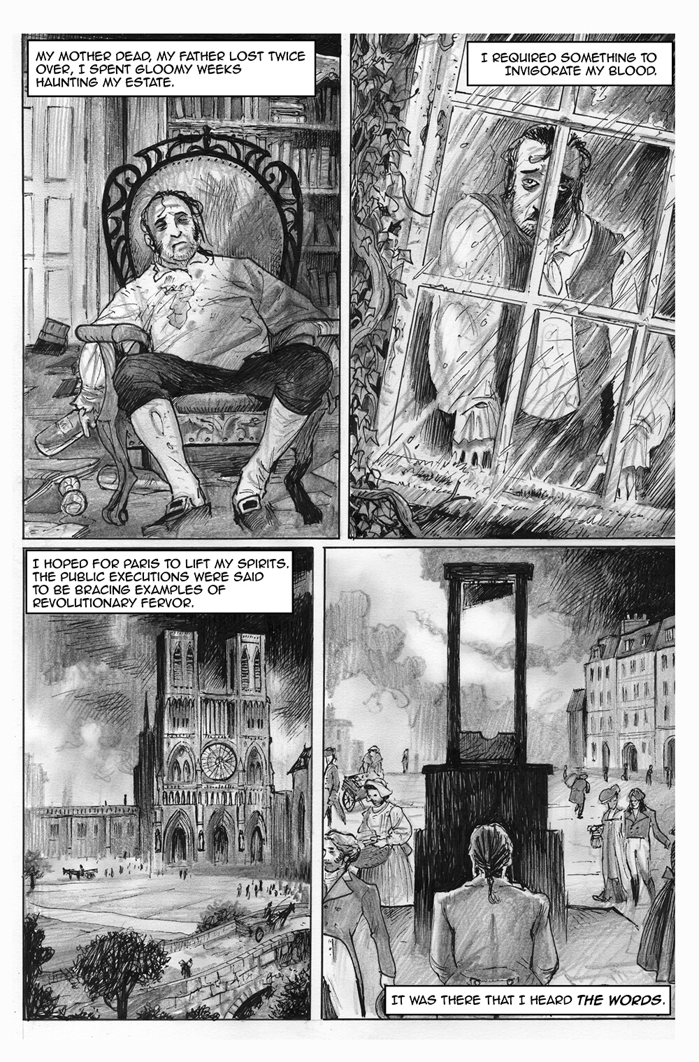 Doux Didou, page 4, by Sam Costello and David Hitchcock
