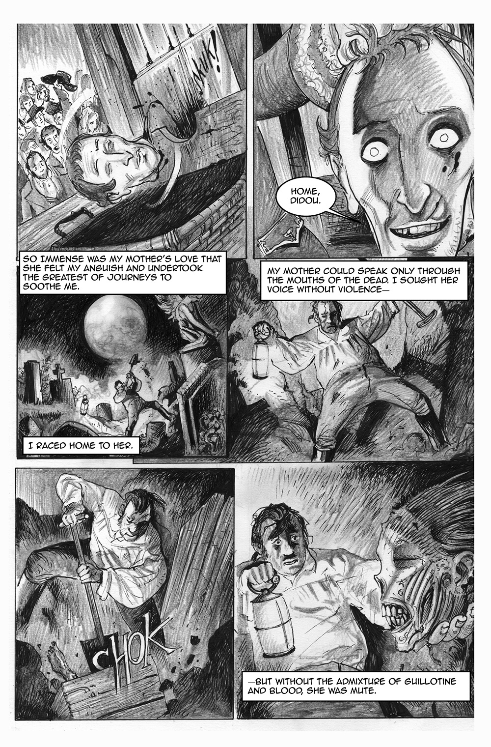Doux Didou, page 6, by Sam Costello and David Hitchcock