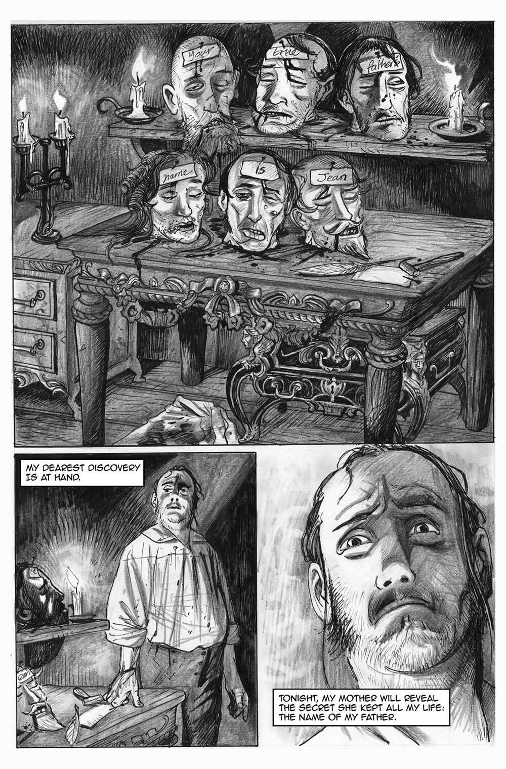 Doux Didou, page 9, by Sam Costello and David Hitchcock