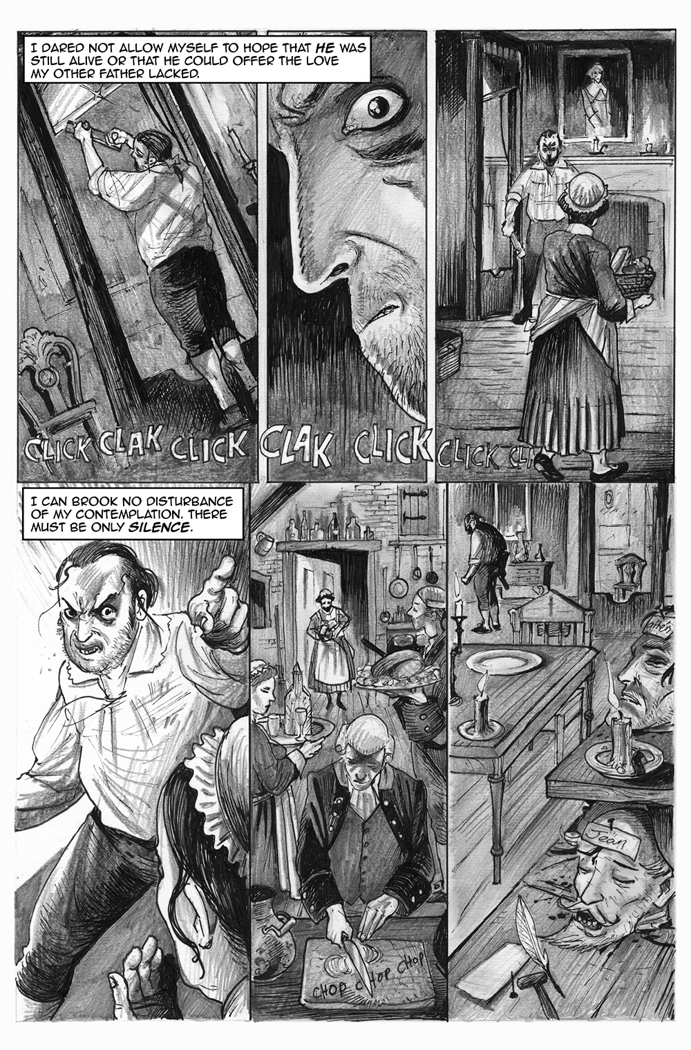 Doux Didou, page 10, by Sam Costello and David Hitchcock