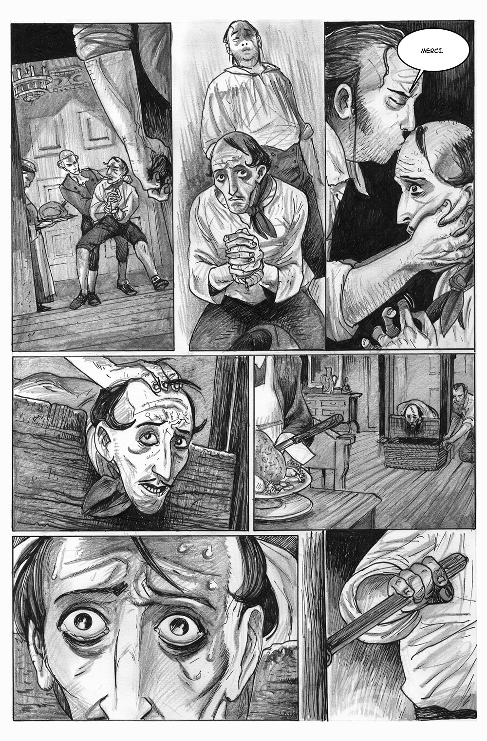 Doux Didou, page 11, by Sam Costello and David Hitchcock